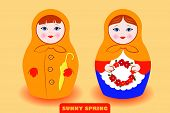 Spring Mood Matryoshka