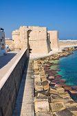 Carlo V Castle. Monopoli. Puglia. Southern Italy.