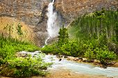 Takakkaw Falls waterfall in Yoho National Park, British Columbia, Canada