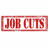 Job Cuts stamp