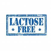 Lactose Free stamp