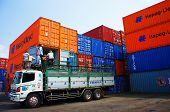 Truck Load Cargo, Container, Vietnam Depot