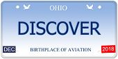 Discover Ohio Imitation License Plate