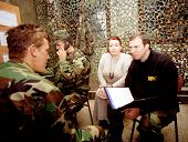 ZUNOVNICA,  BOSNIA, 12 DECEMBER 1997 - Former United States military officers, under contract from L