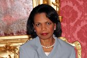 BUDAPEST, HUNGARY - JUNE 22: United States Secretary of State Condoleezza Rice in Budapest, Hungary,