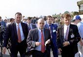 TIRANA, ALBANIA,  18 August 1998 - Albanian Prime Minister Fatos Nano.
