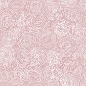 Gentle floral seamless pattern in vector. Seamless pattern can be used for wallpaper, pattern fills, web page backgrounds, surface textures. Gorgeous seamless floral background