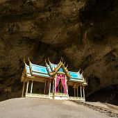 Royal pavilion in the Phraya Nakhon Cave, Prachuap Khiri Khan, Thailand