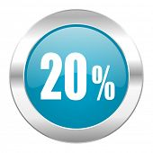 20 percent internet icon