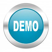 demo internet blue icon