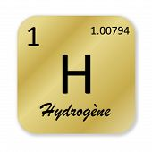 Hydrogen element, french hydrogene