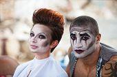 Attractive Cirque Performers