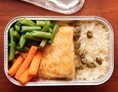 Fish And Rice - Inflight Meal