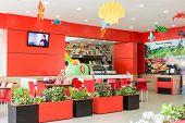 Spring Time Fast Food Restaurant