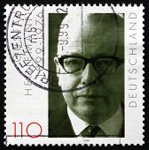 Postage Stamp Germany 1999 Gustav Heinemann, Politician