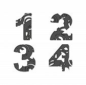 A Few Abstract Numbers
