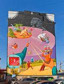 Surrealistic Mural Time Machine