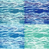 Seamless Water Surface Pattern Variations