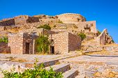 Round Tower Of Spinalonga Fortress.