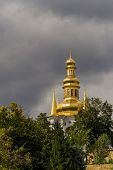 View of Kiev Pechersk Lavra, the orthodox monastery included in the UNESCO world heritage list. Ukra
