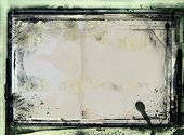 Highly detailed grunge frame  with space for your text or image. Great grunge layer,background or te