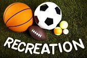 Recreation, sports equipment