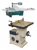 The image of an industrial woodworking router