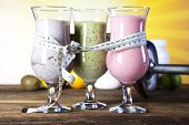 Protein shakes, sport and fitness