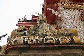 Buddha statue at Wat Sena Nimit