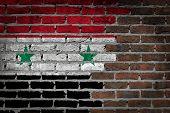Dark Brick Wall - Syria