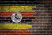Dark Brick Wall - Uganda