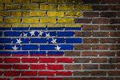 Dark Brick Wall - Venezuela