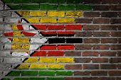 Dark Brick Wall - Zimbabwe