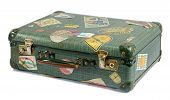 Well Travelled Old Vintage Suitcase