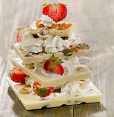 White Chocolate  Dessert