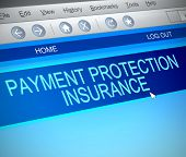 Payment Protection Insurance Concept.