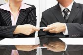 Businessman Is Giving Pen To Business Partner To Sign Contract