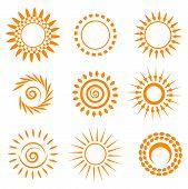 Symbolic Sun Set