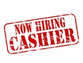Now Hiring Cashier