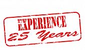 Experience Twenty Five Years