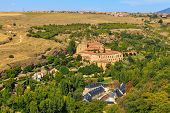 Santa Maria Del Parral Is A Convent Of The Hieronymites Just Outside The Walls Of Segovia, Spain
