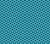 Blue mosaic seamless raster background. Graphic pattern with rhombus elements. Raster seamless illus