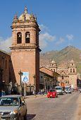 CUZCO, PERU, MAY 1, 2014:  Churches in city center