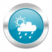 rain internet blue icon