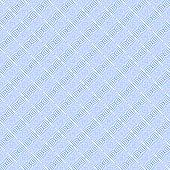 Seamless blue diagonal striped pattern. Vector art.