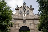 Gate In Vysehrad, Prague, Czech Republic