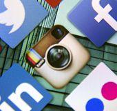Belgrade - March 11, 2014 Social Media Icon Instagram On Smart Phone Screen