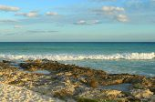 Caribbean beach at the Riviera Maya, Mexico
