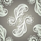 Seamless Ornate Pattern (Vector)