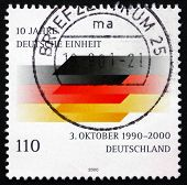 Postage Stamp Germany 2000 German Flag